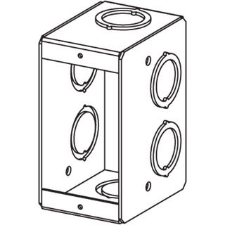 CM-MSB-1 - 1 Gang Masonry Box 2 1/2